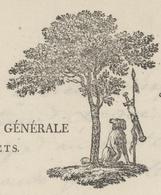 Héraldique Strasbourg An 11-10.4.1801 Administration Des Forêts L'inspecteur - Historical Documents