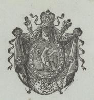 Héraldique Schlestatt Sélestat 1810  Juge Tribunal - Historical Documents