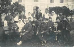 GUERRE 1914/18 - Caussade, Hôpital Militaire , Carte Photo En 1914 à Situer Dans La Ville. - Oorlog 1914-18