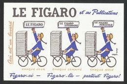 Buvard -  LE FIGARO - Blotters