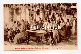 - CPA MIRECOURT (88) - Maison Laberte-Humbert Frères - Vernissage Des Instruments (belle Animation) - Edition Farnier - - Mirecourt