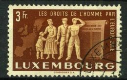 LUXEMBOURG ( POSTE ) : Y&T N°  447  TIMBRE  BIEN  OBLITERE . - Usati