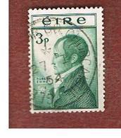 IRLANDA (IRELAND) -  SG 156 -  1953  ROBERT EMMET, PATRIOT   - USED - 1949-... Repubblica D'Irlanda