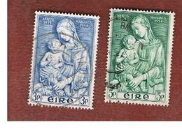IRLANDA (IRELAND) -  SG 158.159   -  1953  MARIAN YEAR (COMPLET SET OF 2)    - USED - 1949-... Repubblica D'Irlanda