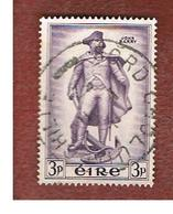 IRLANDA (IRELAND) -  SG 162   -  1956 JHON BARRY, COMMODORE   - USED - 1949-... Repubblica D'Irlanda