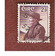 IRLANDA (IRELAND) -  SG 166   -  1957 T. O'CROHAN, AUTHOR  - USED - 1949-... Repubblica D'Irlanda