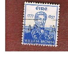 IRLANDA (IRELAND) -  SG 168   -  1957 W. BROWN, ADMIRAL  - USED - 1949-... Repubblica D'Irlanda