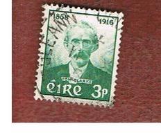 IRLANDA (IRELAND) -  SG 172   -  1958  T. CLARKE, PATRIOT  - USED - 1949-... Repubblica D'Irlanda