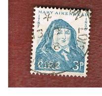IRLANDA (IRELAND) -  SG 174   -  1958  MOTHER MARY AIKENHEAD - USED - 1949-... Repubblica D'Irlanda