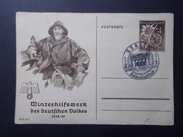 Marcophilie  Cachet Lettre Obliteration - ALLEMAGNE - Entier Postal - 1939 (2248) - Allemagne