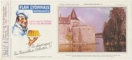 Buvard - FLAN LYONNAIS - Chateau De SULLY SUR LOIRE - N°1 - Blotters