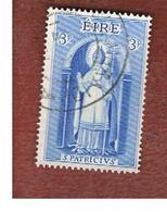 IRLANDA (IRELAND) -  SG 186   -    1961 SAINT PATRICK    - USED - Usati