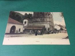 SAPOIS. Rue Animée Colorisee. CARTE RARE - Francia