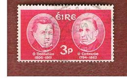 IRLANDA (IRELAND) -  SG 189   -    1962  O'DONOVAN & O'CURRY, SCHOLARS    - USED - 1949-... Repubblica D'Irlanda