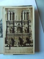 Frankrijk France Frankreich Parijs Paris Notre Dame Facade Vieux - Notre-Dame De Paris