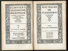Wat Willen De Vlamingen - Livres, BD, Revues