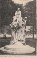 ***  75  *** PARIS  Statue De Dumas Fils - TTB  écrite - Standbeelden