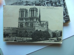 Frankrijk France Frankreich Parijs Paris Notre Dame Vue D'Ensamble  Vieux - Notre-Dame De Paris
