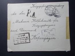 Marcophilie  Cachet Lettre Obliteration - ALLEMAGNE - Officier Prisonnier Guerre 1917 (2251) - Allemagne