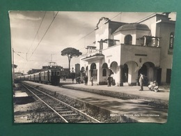Cartolina Portici - Stazione Circumvesuviana - 1958 - Napoli