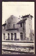 FRANCE......CP CPA CARTE POSTALE GARE SNCF TRAIN ............17 SAINTES  DOUHET ECOYEUX - Saintes