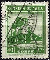 Chile 1939 - Mi 237 - YT 172 ( Copper Mine ) With Watermark - Chile