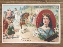 CHROMO CHOCOLAT SUCHARD S57 1898 Famous Women Femmes Célèbres Reine Berthe - Suchard