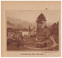 1932 - Iconographie - Sainte-Marie-aux-Mines (Haut-Rhin) - Vue Générale - FRANCO DE PORT - Non Classés