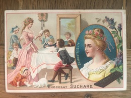 CHROMO CHOCOLAT SUCHARD S57 1898 Famous Women Femmes Célèbres Charlotte Buff - Suchard