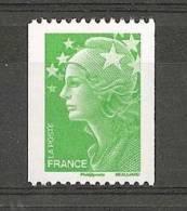 4239** Marianne De Beaujard Tvp Vert (roulette) - France