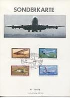 Berlin # 320 Gedenkfaltkarte Postausstellung Im Karstadt Schloßstraße 18.3.68 Seltene Nummerierte Faltkarte - Berlin (West)