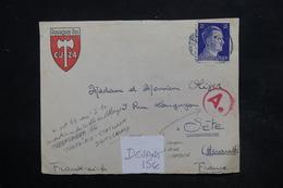 """ALLEMAGNE - Enveloppe ( Devant ) Illustré """" Pourquoi Pas - CJ 24 """" Pour La France - L 24038 - Allemagne"""