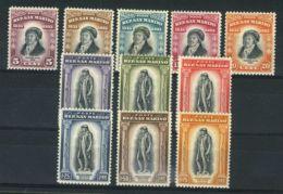 SAINT-MARIN ( POSTE ) : Y&T N°  193/197 ET 199/204  TIMBRES  NEUFS  SANS  TRACE  DE  CHARNIERE . - Neufs