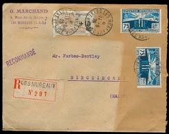 FRANCE - XX. 1925. Les Mureaux - MALTA. Registr Multifkd Env / Orphelines / Arrival Ds. - Unclassified