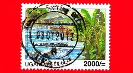 UGANDA - Usato - 2007 - Convenzione RAMSAR - Economic Lake George - Wetlands & Water - 2000/- - Uganda (1962-...)