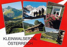 1 AK Österreich Vorarlberg * Ansichten Vom Kleinwalsertal - Dabei Auch Luftbildaufnahmen * - Kleinwalsertal