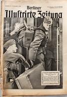 Berliner Illustrierte Zeitung 1940 Nr.51 Grüß Deinen Jungen...Deutscher Soldat Im Urlauberzug - Deutsch