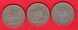 -- LOT DE 3 MONNAIES De 20 FORINT -- - Hongrie