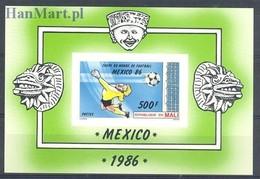 Mali 1986 Mi Bl26B MNH ( ZS5 MLIbl26B ) - Coupe Du Monde