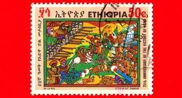 ETIOPIA - Usato - 1971 - 75 Anni Della Vittoria Di Adua - 50 - Etiopia