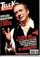 Tele K7 N°428 Yves Montand +++TBE+++ PORT GRATUIT - Fernsehen