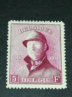 COB N ° 177 MH - 1919-1920 Roi Casqué