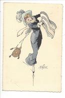 21516 - Mode Femme Chapeau Patinage M.M. Vienne Munk Nr.676 - Illustrateurs & Photographes