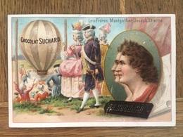 CHROMO CHOCOLAT SUCHARD S54 1897 Famous Inventors Inventeurs Célèbres Montgolfier Montgolfière Aérostat - Suchard