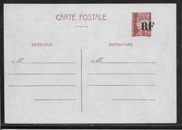 France Entiers Postaux - Carte Postale 1fr20 Pétain Surcharge Mâte RF - Storch N°D4d - Tirage De Blois - Variété - Entiers Postaux