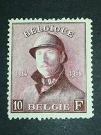 COB N ° 178 MH - 1919-1920 Roi Casqué
