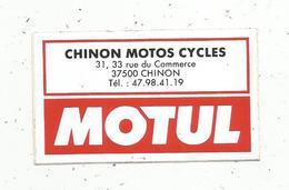 Autocollant , Moto, CHINON MOTOS CYCLES , MOTUL , CHINON - Stickers