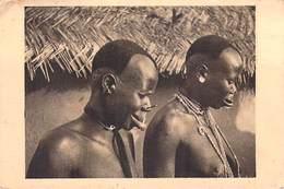 Afrique- TCHAD Femmes à  Plateaux D'argent (nue Seins Nus) (Editions Bègne 21) Timbre Stamp JEUX POUR LA SANTE*PRIX FIXE - Ciad
