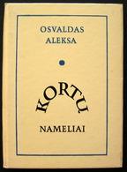 Lithuanian Book / Kortų Nameliai By O. Aleksa 1983 - Kultur