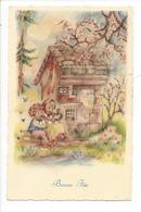 21518 - Bonne Fête Enfants Musiciens Cerisiers En Fleurs Deriaz 3151 - Fêtes - Voeux